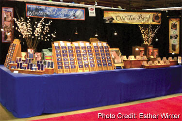 Wholesale Jewelry Booth
