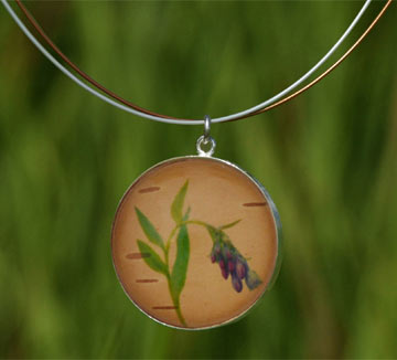 Bluebell Silver Necklace